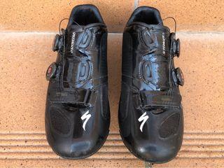 Zapatillas Specialized Sworks 5 negras, talla 42
