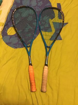 Raqueta de squash dunlop