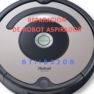 Reparar robot aspirador cualquier marca