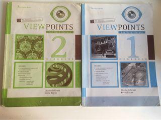 Libros de inglés. View points for bachillerato