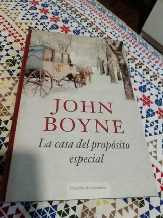 libro LA CASA DEL PROPÓSITO ESPECIAL Johm Boyne