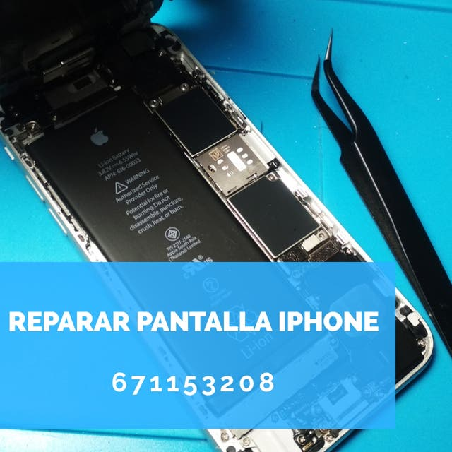 Cambiar pantalla Iphone nueva