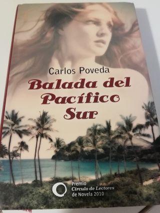 libro BALADA DEL PACÍFICO SUR