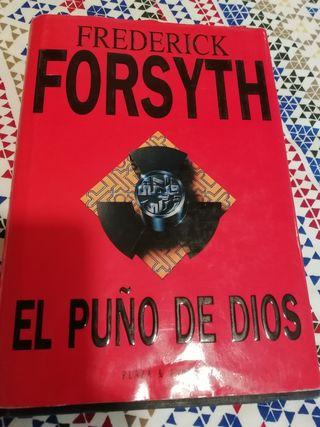 libro EL PUÑO DE DIOS Frederic Forsyth