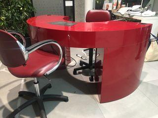 Mueble manicura + silla profesional