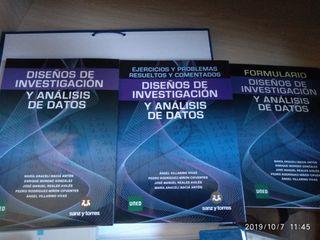 Diseños de investigación y análisis de Datos-Uned