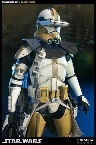 Sideshow Star Wars Commander Bly 327th Star Corps
