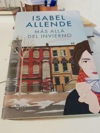 Libro MAS ALLÁ DEL INVIERNO Isabel Allende