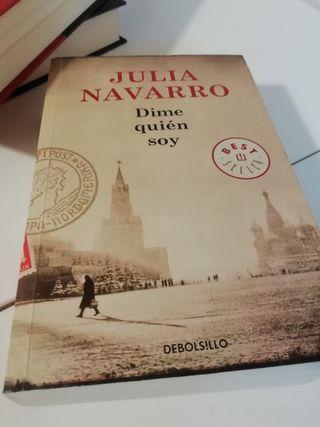 libro DIME QUIEN SOY Julia Navarro