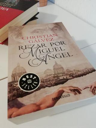 libro REZAR POR MIGUEL ANGEL Cristian Galvez