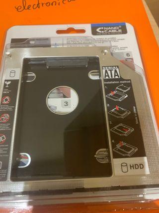 Adaptador dvd a disco duro
