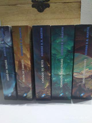 pack libros Juegos de Tronos