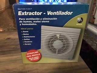Extractor Ventilador DH