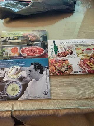Sellos Gastronomía Española Valor Facial 14,40 €