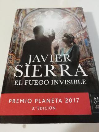 libro EL FUEGO INVISIBLE Javier Sierra