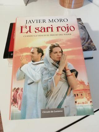 libro EL SARI ROJO Javier Moro