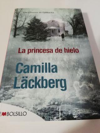 libro LA PRINCESA DE HIELO Camilla Lackberg