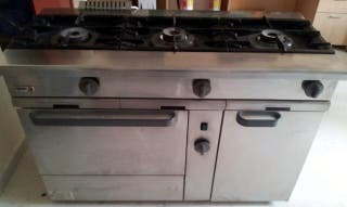 Cocina industrial gas natural fagor