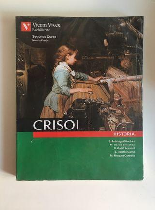 Libro Historia. CRISOL