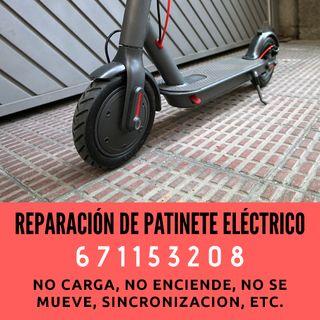 Reparar patinete eléctrico