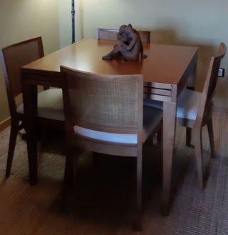 Mesa comedor con sillas de segunda mano en la provincia de ...