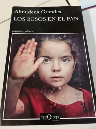 libro LOS BESOS EN EL PAN Almuden Grande