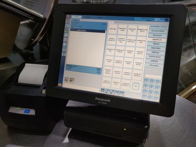 Caja registradora TPV