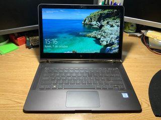 """Hp spectre laptop 13 """" i7 8ram 256 ssd"""