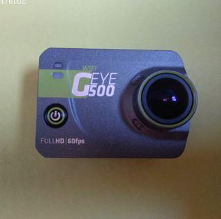 Cámara Geonaute G-eye 500 4k FullHD + Carcasa agua