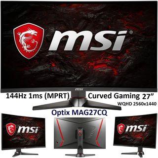 Monitor Gaming MSI OPTIX MAG27CQ