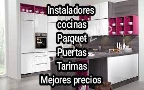 Montamos cocinas, instalación de Parquet, Puertas