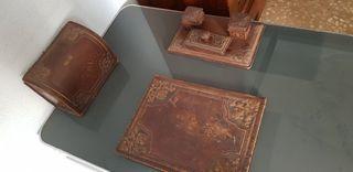 juego de escritorio antiguo