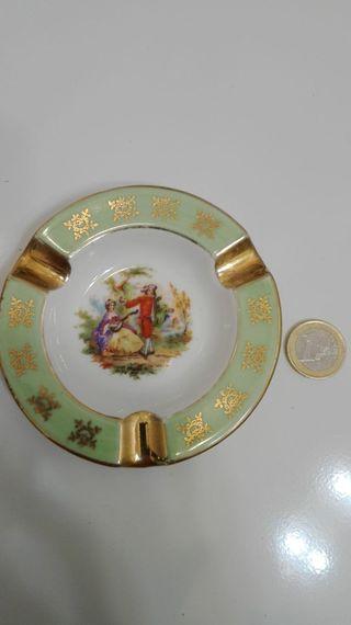 Cenicero de porcelana LIMOGES