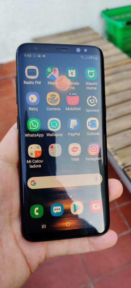 Samsung Galaxy s8 (acepto cambios)