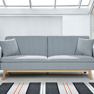 Sofá cama celeste clic clac sillón silla asiento