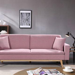 Sofá cama rosa clic clac sillón silla asiento