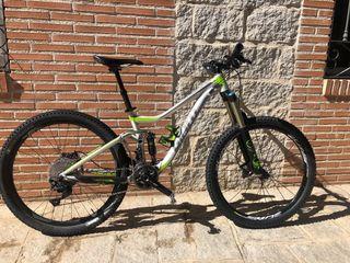 Bicicleta doble suspensión Giant trance 27,5