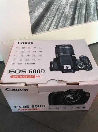 CANON EOS 600D + grid + accesorios