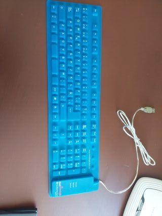 teclado goma