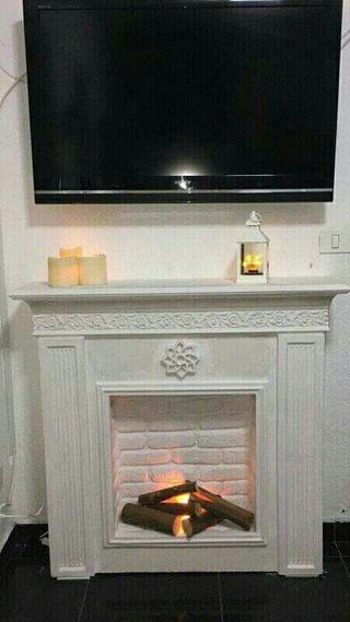 bonita chimenea de escayola 605437335
