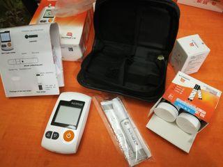 Kit medidor de glucosa incluye 50 tiras, 50 leucet