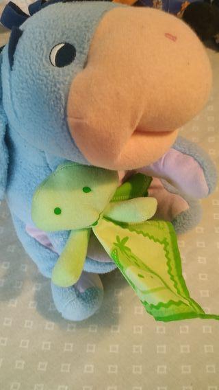 muñeco musical y con luz para bebe y recién nacid
