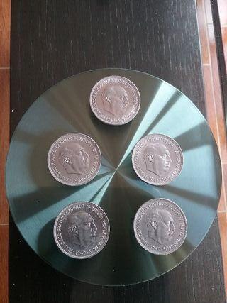 MONEDAS 5 PTAS. 1949 (DURO GRANDE) * 50