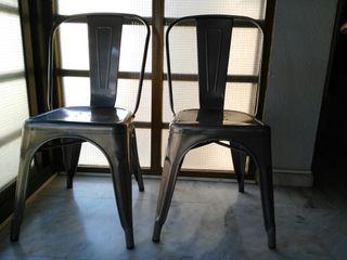 Pack dos sillas metalicas TOLIX