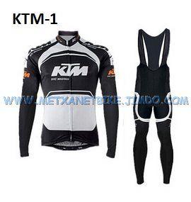 Equipación ciclismo invierno KTM-1 t.S,M,L,XL,XXL