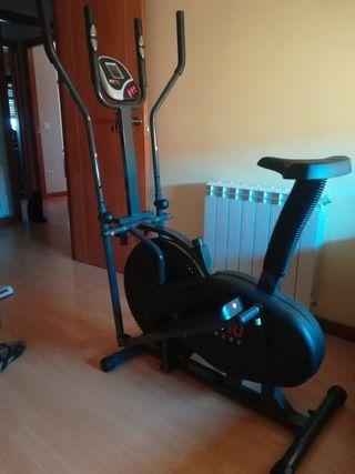 Bicicleta estatica y eliptica FITFIU FITNESS