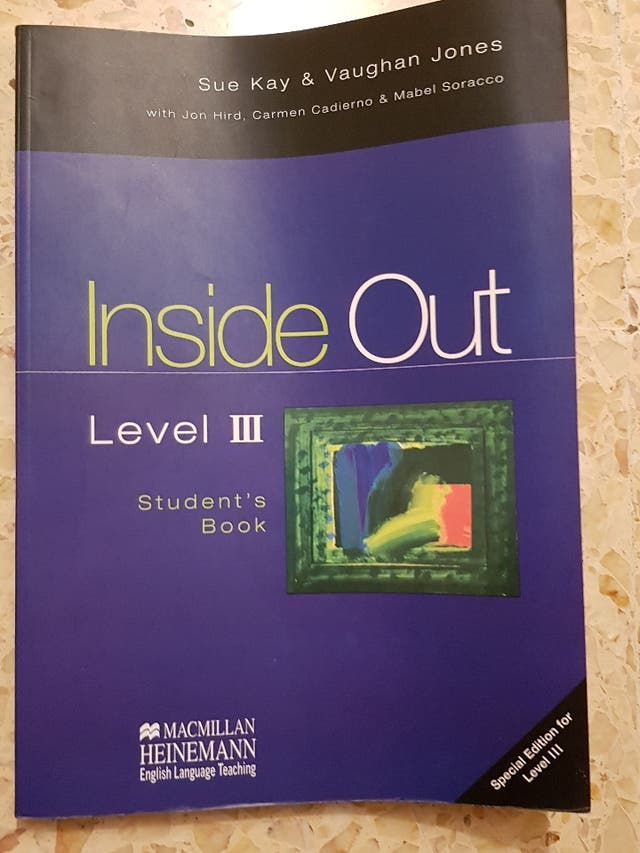 Libro Inglés Inside Out Level III