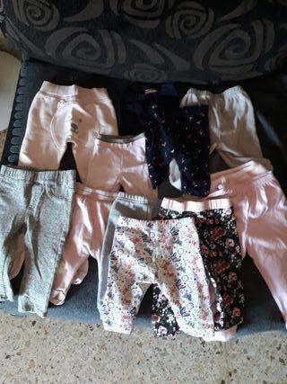 pantalones de 0-9 meses muy nuevos