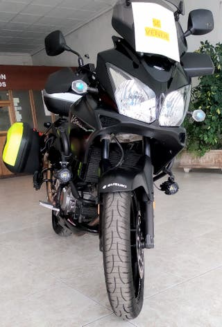 Suzuki V Strom DL 650 Negra Mate