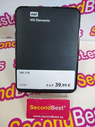 Disco duro portátil WD de 1TB